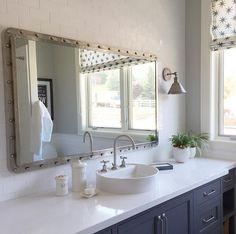 Bathroom Mirror. Bathroom mirror is the maritime mirror from GO Home Ltd. #Bathroom #mirror #bathroommirror Caitlin…