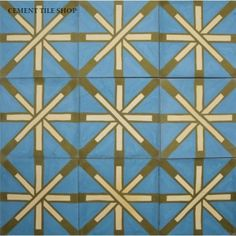 Cement Tile Shop - Handmade Cement Tile | Guillermo & Tania Collection - Berighestah 1B. Call (800) 704-2701 for more information.