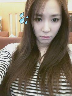 SNSD Tiffany cute selca #SNSD