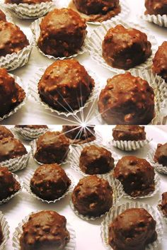 The Kitchen Food Network, Death By Chocolate, Ferrero Rocher, Dessert Recipes, Desserts, Food Network Recipes, Truffles, Nutella, Muffin