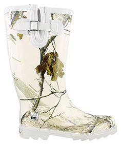 Women's Funky rain boots - Camo style. Camo boots are great for walking in the woods, hunting or just taking the trash out. Be different and grab a women's funky camo rain boot.