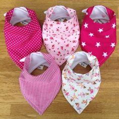 girl bandana scarf dribble bibs baby - Google Search