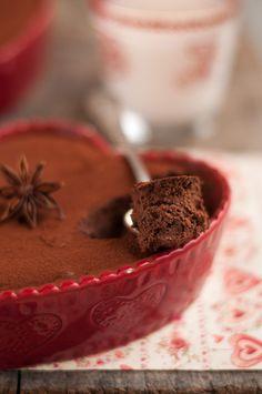Fondant de Noel au chocolat, orange et épices à spéculos