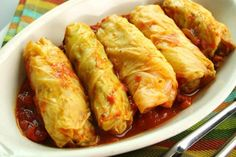 Cabbage Rolls is a delicious Canadian Food. Learn to cook Canadian Food Recipes and enjoy Traditional Canadian Food. Appetizer Recipes, Dinner Recipes, Appetizers, Recetas Salvadorenas, Cuisine Diverse, Comfort Food, Beef Dishes, Crockpot Recipes, Slow Cooker Recipes