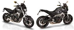 YAMAHA MT-09 NEW ACCESSORIES FROM BARRACUDA MOTO