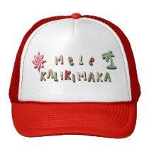 Hawaiian Gingerbread Cookies and Candy Trucker Hat