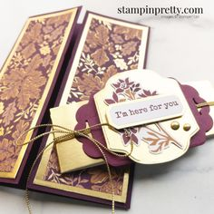 Pretty Cards, Love Cards, Mary Fish, Stampin Pretty, Slider Cards, Sending Hugs, Card Making Inspiration, Cards For Friends, Paper Pumpkin