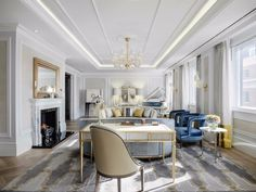 100 Best Interior Designers 2017 by Boca do Lobo and Coveted Magazine Classic Interior, Best Interior Design, Luxury Interior, Luxury Furniture, Lobby Furniture, Minimalist Interior, Interior Ideas, Modern Furniture, World Of Interiors