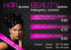Hair+&+Beauty+Flyer Lashes, It Works, Hair Beauty, Make Up, Color, Eyelashes, Maquillaje, Colour, Makeup