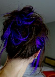 Always wanted to do this (like a purplish indigo)