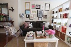Apartamento pequeno, feminino e despojado em New York - Casinha Arrumada