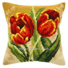Shop online for Tulips Cushion Front Chunky Cross Stitch Kit at sewandso.co.uk. Browse our great range of cross stitch and needlecraft products, in stock, with great prices and fast delivery.