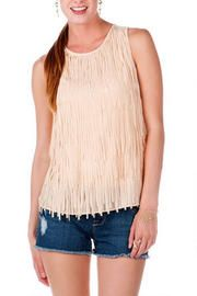 Sao Paulo Fringed Tank - Francescas Boutique