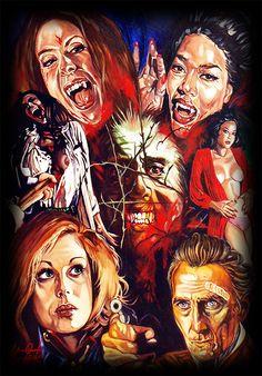 'The Satanic Rites of Dracula' Artwork by Rick Melton