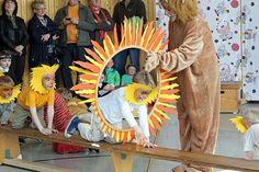 """Der Kindergarten """"Krähennest"""" wurde zum Zirkus. (Foto: Stadt Arnsberg)"""