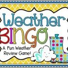 Free This is a fun way for students to review weather terms. This review game cover the following concepts: Earth's Atmosphere, Weather Fronts, Weather ...