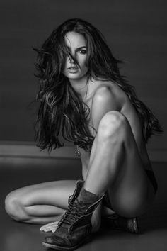 Lily Aldridge for 'Angels' by Russell James