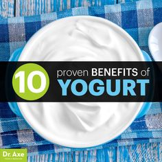 Benefits of Yogurt - and best types of yogurts for best health.