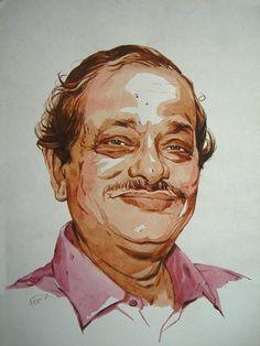 Portrait - Painting by Biplob Sarkar at touchtalent 77541 at touchtalent 77541