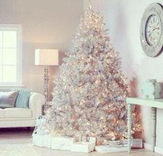 alberi di natale bianchi - Cerca con Google