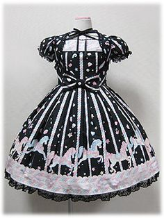 Sugary Carnival OP http://www.lolibrary.org/apparel/sugary-carnival-op (black)