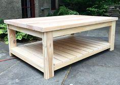 Resultado de imagen de diy wood coffee table