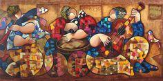 TICMUSart: Ethnic Music Players - Dorit Levi (I.M.)