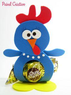 modelo lembrancinha galinha pintadinha porta bombom eva festa aniversario crianca (8)