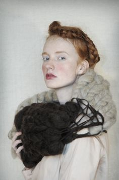 Knit Inspiration: visualmixtape: withtwoneedles: Barbara Munsel