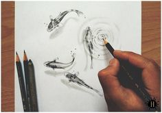 Fish drawing is very well done