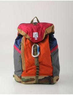 color block backpack / ISETAN (エパーソン・マウンテニアリング)リュックサック shopstyle.co.jp