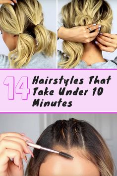 Finally! A simple way to perfect that messy bun!