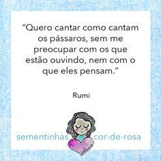 Rumi #sementinhadodia (Carol Dib | Sementinhas Cor-de-Rosa).