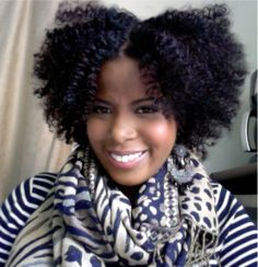 Curly Curly Hair - African American Hair - Natural Hair - Twist out style