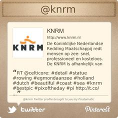 @knrm's Twitter profile courtesy of @Pinstamatic (http://pinstamatic.com)