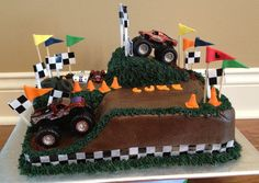 Trendy monster truck cake for boys Ideas