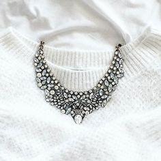 Vintage Glamour Statement Necklace #fashionista #picoftheday -  24,90 € @happinessboutique.com