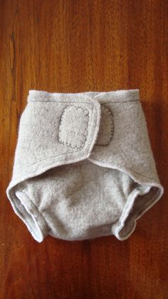 upcycled wool soaker? YES!