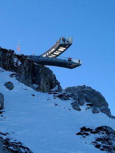 AlpspiX Viewing Platform. Landkreis Garmisch-Partenkirchen, Bavaria, Germany.