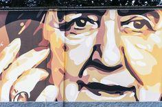 "Alda Merini Steet Art Piazza Cardinal Ferrari - ""Milan Street Art"" by @crowdedplanet"