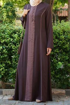 Abaya Fashion, Muslim Fashion, Fashion Dresses, Stylish Dress Designs, Stylish Dresses, Kids Dressy Clothes, Clothes For Women, Modele Hijab, Abaya Designs