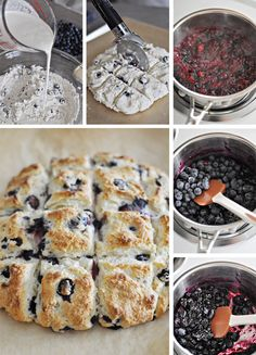 Blueberry Biscuits  ..... you know how I love blueberries!