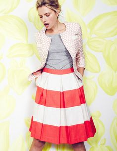 I've spotted this @BodenClothing Full Stripy Skirt