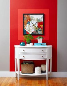 Creative Decorating: Making Your Art Stand Out - List of the best home decor Diy Home Decor For Apartments, Diy Home Decor Bedroom, Easy Home Decor, Block Painting, Diy Wall Painting, Diy Wand, Painting Baseboards, Apartment Painting, Vinyl Floor Covering