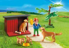 Golden Retrievers - 6134 - Playmobil® España