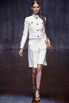 Gucci Spring 2015 Runway. See the entire collection on Vogue.com.