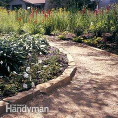 Affordable Garden Path Ideas