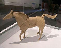 Caballo d origami