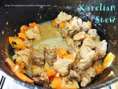 Ecuador Joannan silmin - Ecuador in my eyes: Karelian Stew or Karelian Hot Pot
