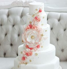 Artistic Wedding Cakes from the caketress canada. To see more: http://www.modwedding.com/2014/04/25/artistic-wedding-cakes-inspiration/ #wedding #weddings #cake #reception #dessert